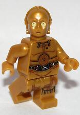 1 original lego STAR WARS droid C3PO from 75136 2016 GOLD genuine lego
