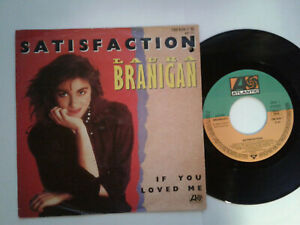 Laura-Branigan-Satisfaction-7-034-Vinyl-Single-1982-mit-Schutzhuelle