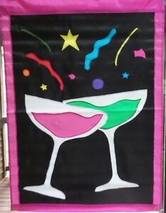 Celebration Champagne Party Standard House Flag by NCE #20340