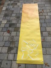 LONDON Paralympic Olympics 2012 Flag Sign Banner 2.2m Olympic Memorabilia Ylw