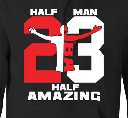 "/""HALF MAN HALF AMAZING/"" 23 Hoodie to Match Air Retro 11 /""72-10/"""