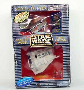 Star Wars Action Fleet Series Alpha Rebel Snowspeeder 1997 Galoob Micro Machines