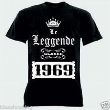 Eventi iMage T-Shirt Le Leggende Sono Nate nel 1966 Compleanno Cerca Il Tuo Anno di Nascita by
