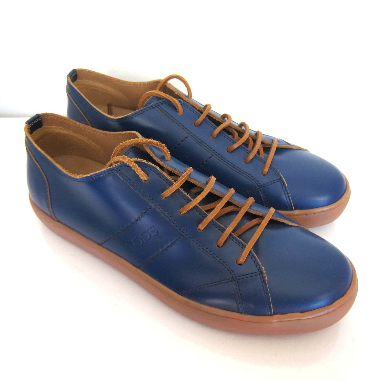 C-1589129 New Tods Sportivo Basso Pelle  Shoes Size   9.5 Marked 8.5