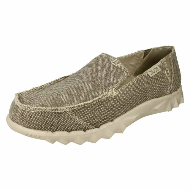 Hey Dude Mens Casual Canvas Shoes