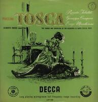 Puccini(Vinyl LP)Tosca Alberto Erede Record 1-Decca-LXT 2730-UK-VG/VG+