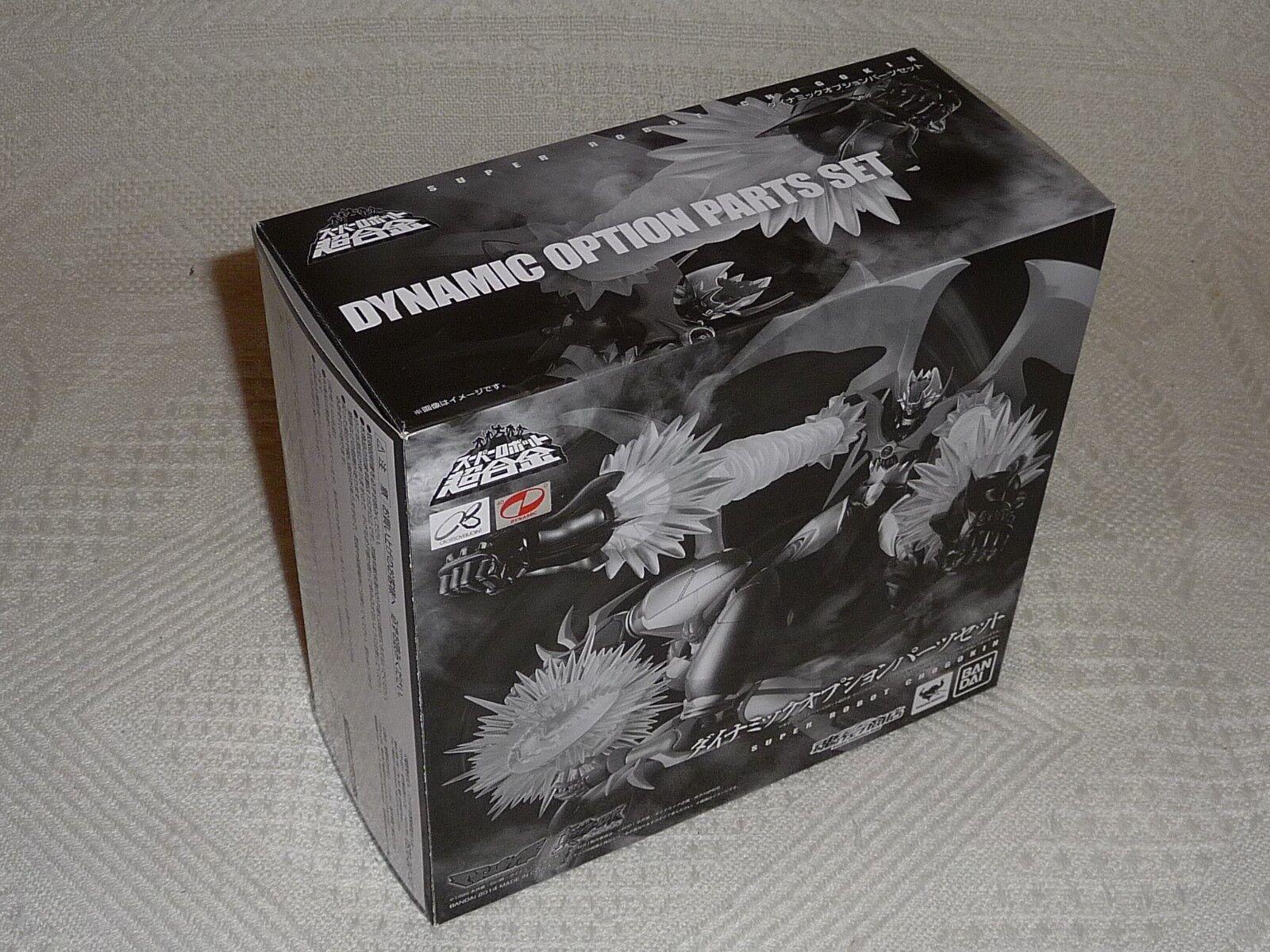 Bandai Tamashii - súper Robot Chogokin - Dynamic Option Parts -  NEW & Sealed