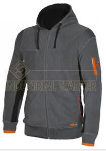Micropile-maglia-pile-da-lavoro-con-cappuccio-ISSA-LINE-04807-Ortigara-grigio