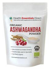 Organic Ashwagandha Powder (Withania Somnifera, Indian Ginseng)