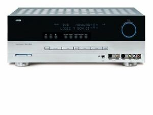 harman kardon avr 240 7 1 channel a v receiver silver 28292502903 rh ebay com