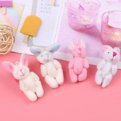 Mini 4cm rabbit plush stuffed baby toy dolls for kids candy box gift toys BH