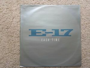 ESSHP02-E17-EACH-TIME-VINYL-12-INCH-SINGLE-COVER-VG-DISC-EX-1998