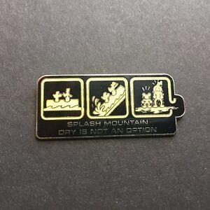 WDW-Ride-Series-Splash-Mountain-Dry-is-not-an-Option-Disney-Pin-30081