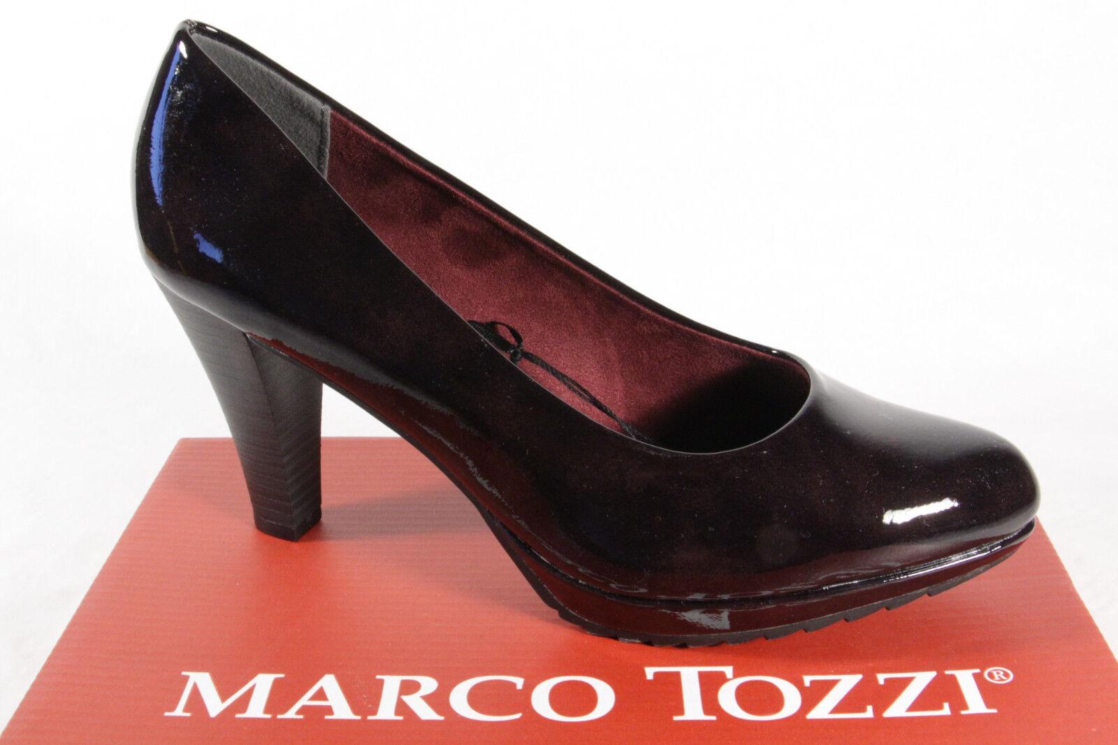 divertiti con uno sconto del 30-50% Marco Tozzi 22403 Décolleté Pantofola Mocassino Bordeaux Sottopiede Morbido Morbido Morbido  risparmiare sulla liquidazione