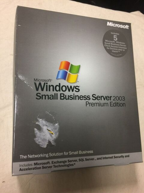 Windows Small Business Server 2003 Premium Edition