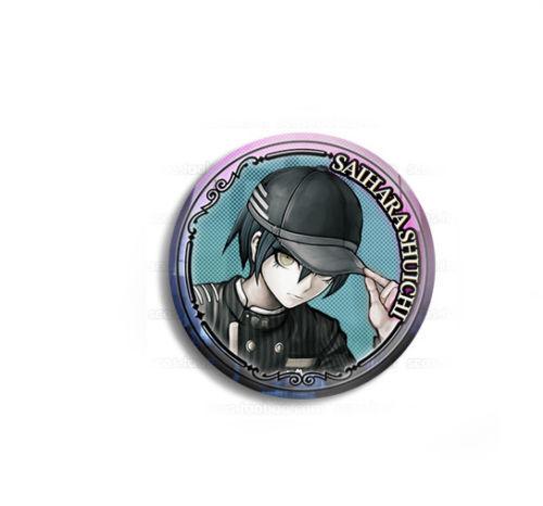 Danganronpa V3 Killing Harmony Kokichi Oma Harukawa Ki-bo Metal Bedge Badge