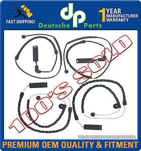 Set of 2 Brake Pad Sensor For 2000-2006 BMW X5 E53 3.0L 4.4L 4.8L Front /& Rear