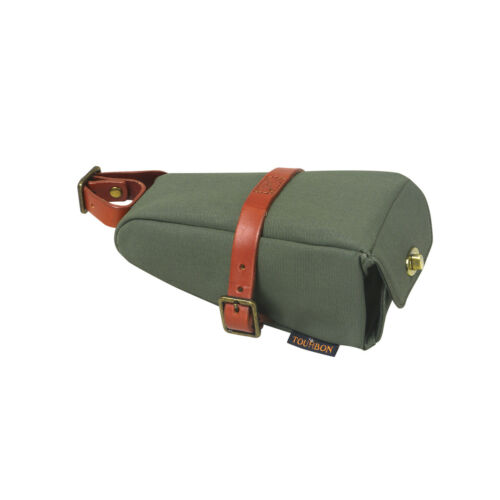 Tourbon Bike Saddle Pouch Under Seat Bag Rear Pack Strap-on Wedge Case Green-USA