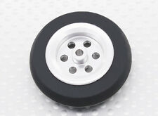 RC Turnigy Scale Jet Alloy Wheels 39mm With Rubber Tires