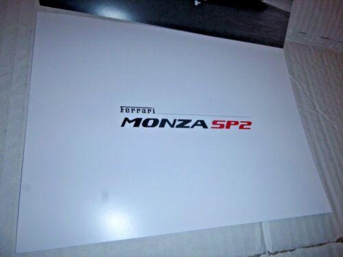 Ferrari MONZA SP2 Genuine CARD Ferrari