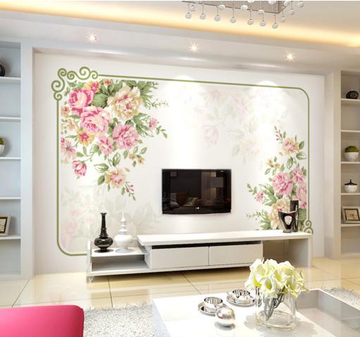 3D Fashion Flowers 90 Wall Paper Murals Wall Print Wall Wallpaper Mural AU Kyra