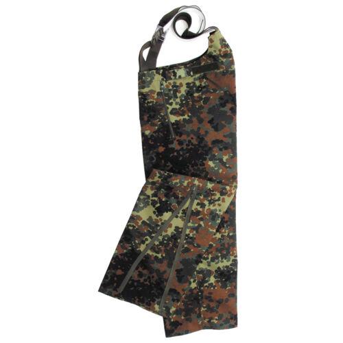 New BW German Army Combat Waterproof Flecktarn GoreTex Bib And Brace Trousers