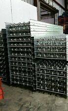 "conveyor roller skate pallet rack racking industrial systems 10'Lx24"" used"