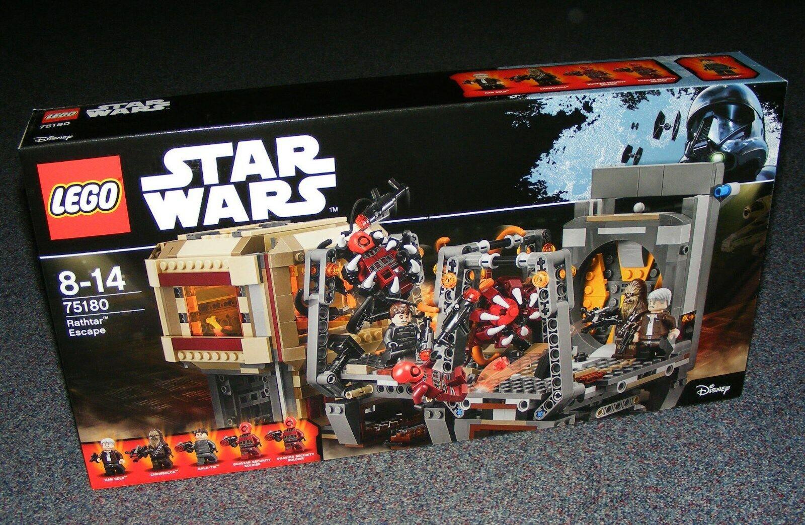 STAR WARS LEGO 75180 rathtar Escape Neuf Scellé Entièrement neuf dans sa boîte