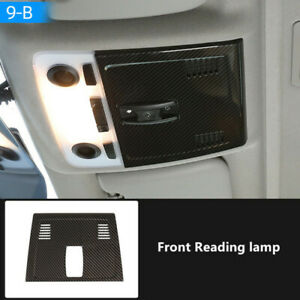 Carbon fiber ABS Rear Roof Reading Light Lamp Cover For BMW 3 Series E90 2005-12