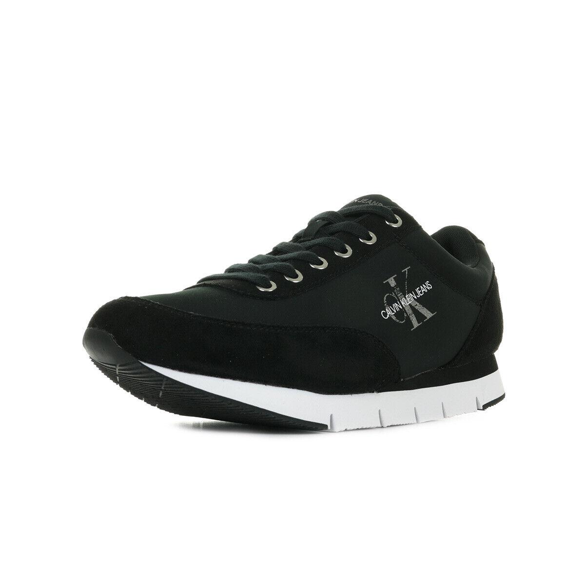 Noire Klein Chaussures Jarod Calvin Noir Lacets Baskets Nylon Taille Homme xoeBdC