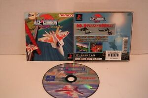 ACE-COMBAT-PS1-Sony-Japan-Import-PlayStation-namco-PSX-NTSC-J-USA-SELLER