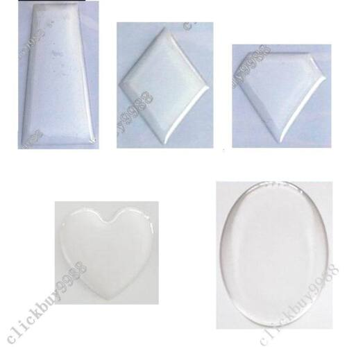 Wholesale 1000PCS Clear Epoxy Stickers for Bottle Caps Crafs--Multiple Shapes