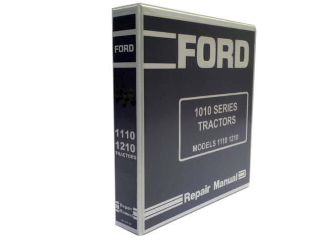 ford 1110 1210 tractor factory service manual repair shop book with rh ebay com ford factory service manuals pdf ford factory service manual pdf