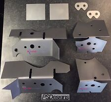 PSDesigns / Redish Motorsport BMW E46 V2 Subframe Repair/Reinforcement Plate Kit