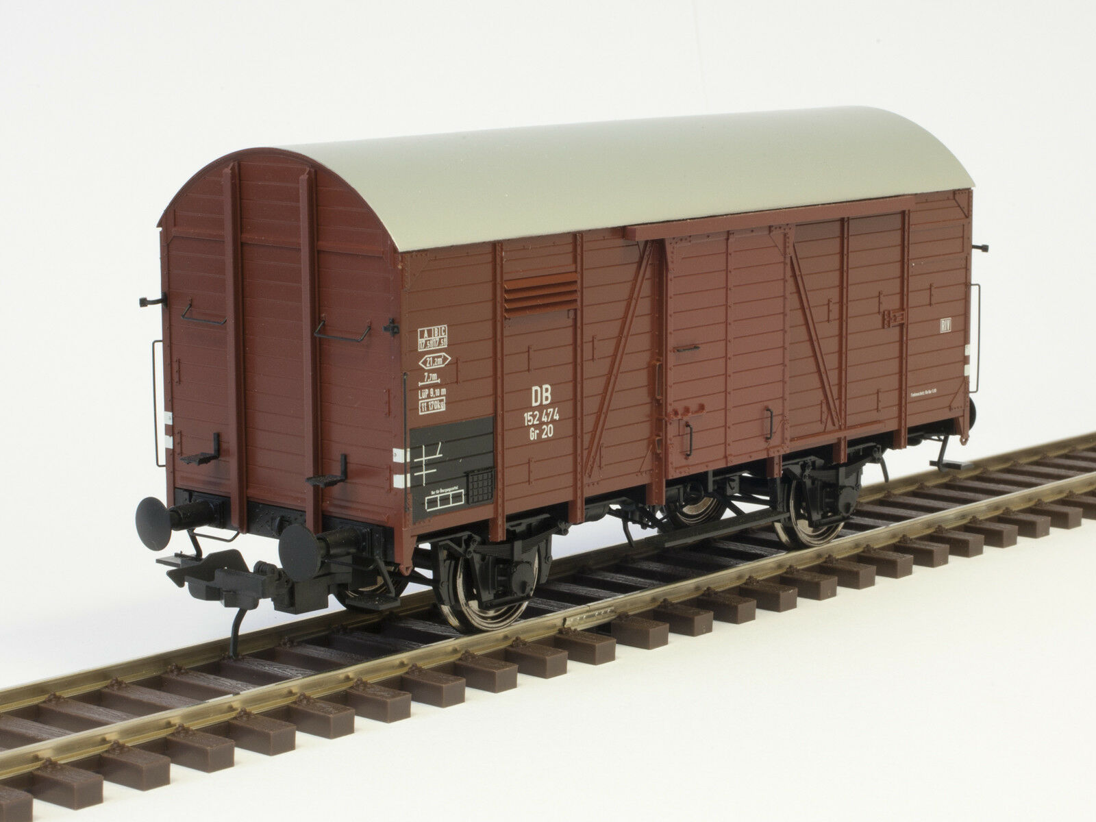 Lenz traccia 42214-07 0 carri merci gr20 Kassel, DB, Ep III