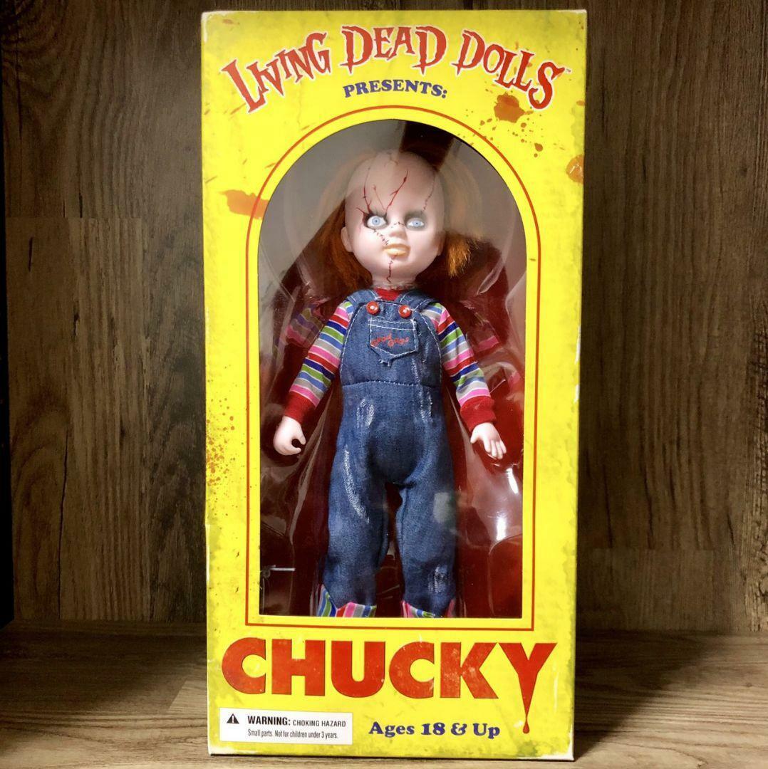 Living Dead Muñeca Niño Jugar Chucky Figura
