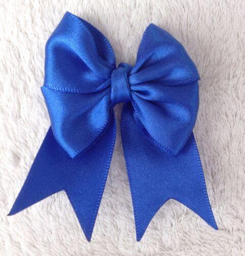Coffret de 4 école Ruban Cheveux Noeuds Rouge Noir Bleu Violet Accessoires