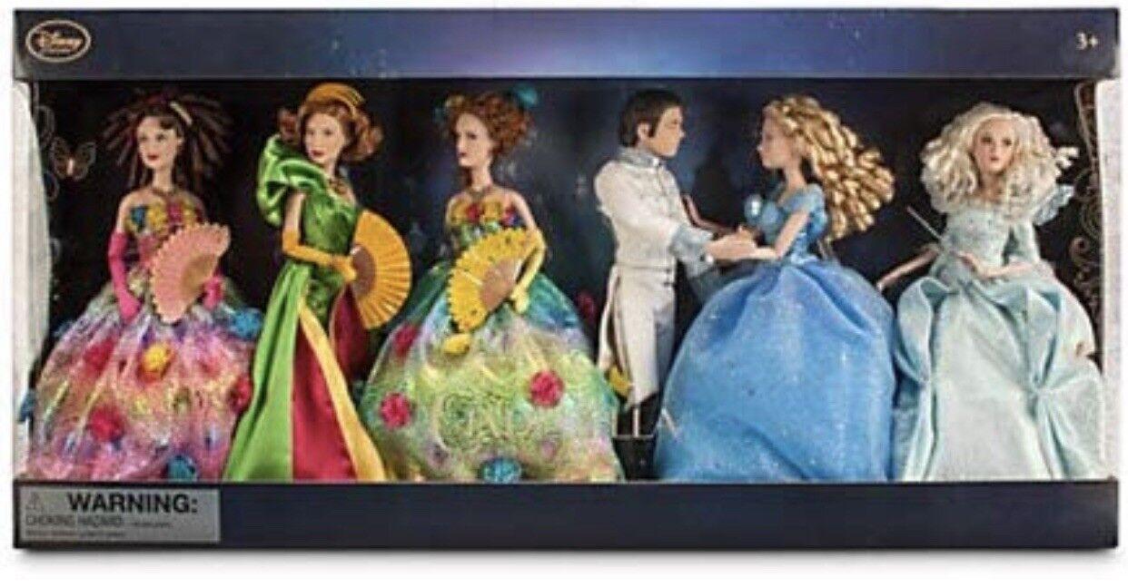 Last one Rare HTF Live Wirkung Cinderella Movie Doll Set