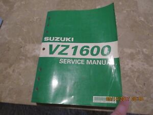 GENUINE-SUZUKI-VZ1600-SERVICE-REPAIR-MANUAL-SHOP-MANUAL