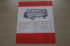 178793) Ford Taunus FK 1000 - Belgien - Prospekt 1956