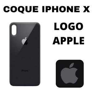 Coque Iphone X Avec Logo Apple Protection Arrière Téléphone