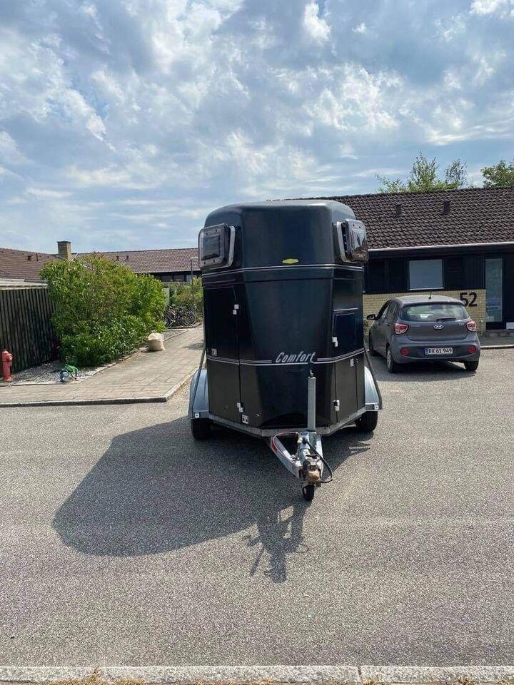 Hestetrailer, Bøckmann Comfort, lastevne (kg): 1250