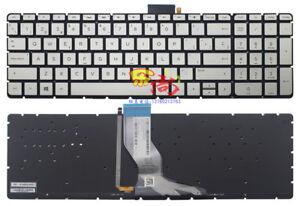 New For HP ENVY 13-ah0000 13t-ah000 Keyboard SP Spanish Teclado Backlit Silver