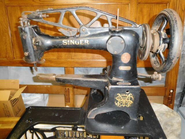 Vintage Singer 29K58 Leather Cobbler Industrial Sewing ...