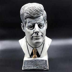 Gift Boxed Kennedy Bust Statue Sculpture Figure President John F