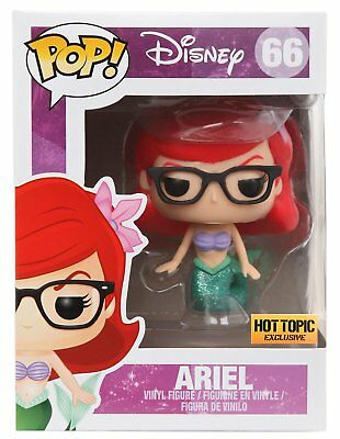 Funko Ariel #220 // 11785 - B BCC9U1210 : The Little Mermaid x POP Compatible PET Plastic Graphical Protector Bundle Disney Vinyl Figure /& 1 POP Hot Topic Exclusive
