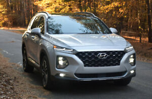 For-Hyundai-Santa-2019-2020-Smoke-color-Window-Visor-Guard-Vent-Deflector