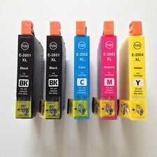 5 pack New T200XL High Yield ink for Epson Expression XP-200 XP-300 XP-400 2520