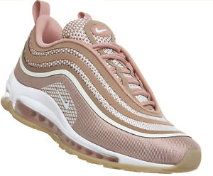 5603e5070824 Nike Air MAX 97 Ultra Metallic Rose Gold Brown Pink Womens Trainers ...