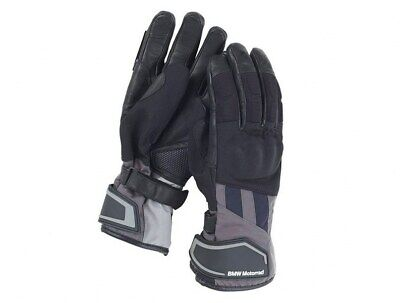 Rockster Gloves Black Unisex Genuine BMW Motorrad Motorcycle RID